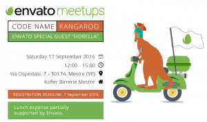 Second Envato Meetup in Italy 'Kangaroo'