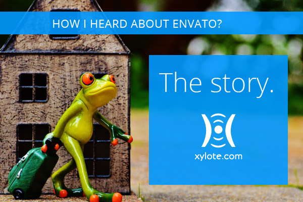 "My Envato Story*. Based on a ""true"" funny story."
