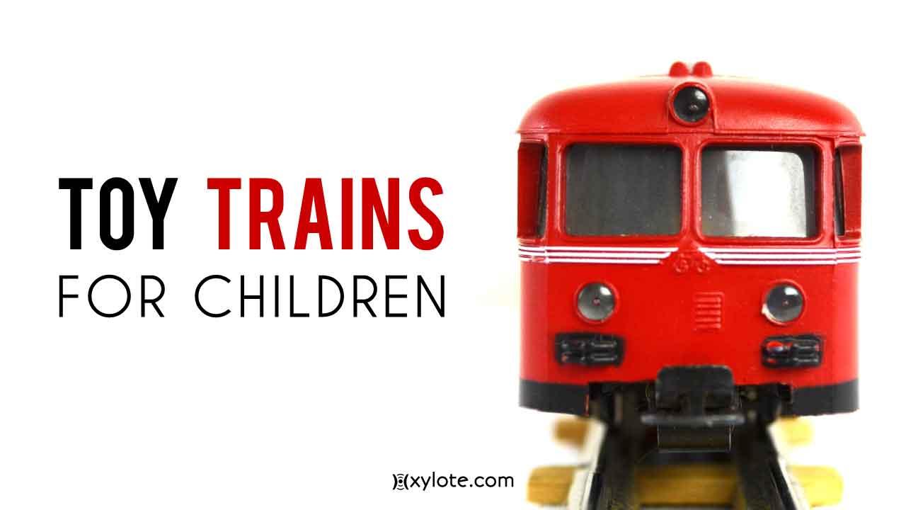 Toy Trains for Children