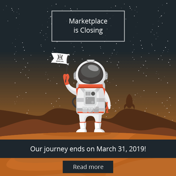 Xylote Marketplace Journey End Here