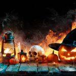 halloween-flame-burning-pumpkins-wooden-99702415-150x150