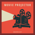 Old Retro Movie Projector Sound Effect